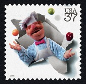 view 37c The Swedish Chef single digital asset number 1