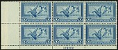 view $1 Mallards Alighting plate block of 6 digital asset number 1