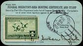 view Form 3333 Federal Migratory-Bird Hunting Certificate and Stamp, Alaska Territory digital asset number 1