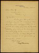 view Letter from President Benjamin Harrison digital asset number 1