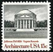 view 15c Virginia Rotunda single digital asset number 1