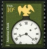 view 10c American Clock single digital asset number 1
