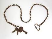 view Sea Post Clerk Oscar S. Woody's set of keys digital asset number 1
