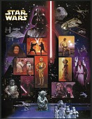 view 41c Star Wars pane of fifteen digital asset number 1