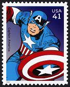 view 41c Captain America single digital asset number 1