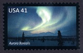 view 41c Aurora Borealis single digital asset number 1