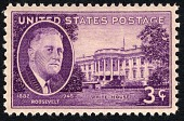 view 3c Franklin D. Roosevelt and White House single digital asset number 1