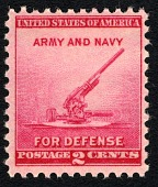 view 2c National Defense Issue Anti-Aircraft Gun single digital asset number 1