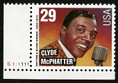 view 29c Clyde McPhatter single digital asset number 1