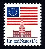 view 13c Flag Over Independence Hall single digital asset number 1
