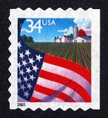 view 34c Flag Over Farm single digital asset number 1