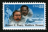 view 22c Robert E. Peary and Matthew Henson single digital asset number 1