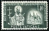 view 10 lire St. Boniface and Fulda Abbey single digital asset number 1