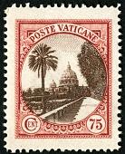 view 75c Vatican Gardens single digital asset number 1