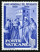 """view 100 lire """"St. Peter Giving Alms to the Poor"""" single digital asset number 1"""