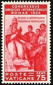 view 75c Pope Gregory IX Promulgating Decretals single digital asset number 1