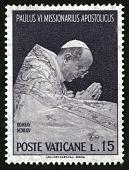 view 15 lire Pope Paul VI at Prayer single digital asset number 1