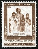 view 20 lire Uganda Martyrs single digital asset number 1