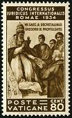 view 80c Pope Gregory IX Promulgating Decretals single digital asset number 1