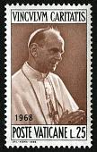 view 25 lire Pope Paul VI single digital asset number 1