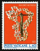 view 40 lire Crucified Christ Surrounded by Doves single digital asset number 1