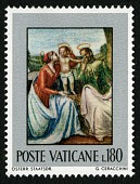 """view 180 lire """"Madonna and Child"""" single digital asset number 1"""
