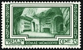 view 25c Crypt of St. Cecilia in Catacombs of St. Calixtus single digital asset number 1