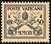 view 50c Papal Arms single digital asset number 1