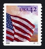 view 42c Flag at Dawn single digital asset number 1