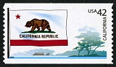 view 42c California Flag and Coast coil single digital asset number 1