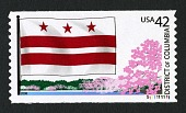 view 42c District of Columbia and Cherry Tree coil single digital asset number 1