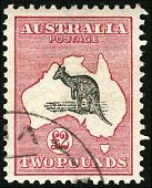 view 2-pound Kangaroo and Map single digital asset number 1