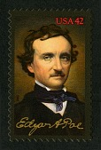 view 42c Edgar Allan Poe single digital asset number 1