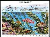 view 44c Kelp Forest Pane of ten digital asset number 1