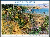 view 42c Great Lakes and Dues pane of ten digital asset number 1
