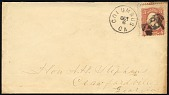 view 3c Washington with Columbus, GA man with a hat on cover digital asset number 1