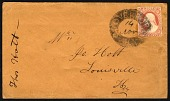 view 3c Washington with Cloverport, KY negative lettering in oval on cover digital asset number 1