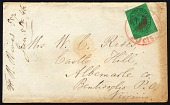 view 2c Boyd's City Express local stamp on cover digital asset number 1