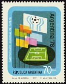 view 70p Flags and Soccer Field single digital asset number 1