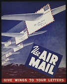 view Airmail poster digital asset number 1