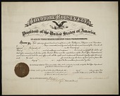 view Certificate of appointment for postmaster digital asset number 1