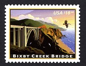 view $18.30 Bixby Creek Bridge single digital asset number 1