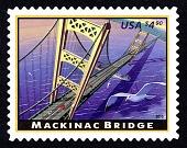 view $4.90 Mackinac Bridge single digital asset number 1