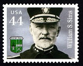 view 44c Admiral William S. Sims single digital asset number 1
