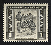 view 1p Primitive Postal Service Among Indians single digital asset number 1