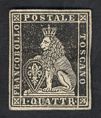 view 1q Lion of Tuscany single digital asset number 1