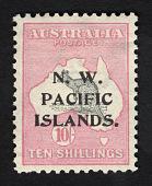 view Overprint on 10sh stamp of Australia single digital asset number 1
