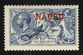 view Overprint on 10sh stamp of Great Britain single digital asset number 1