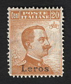 view Overprint on 20c stamp of Italy single digital asset number 1