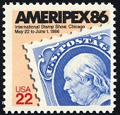 view 22c Ameripex 86 single digital asset number 1